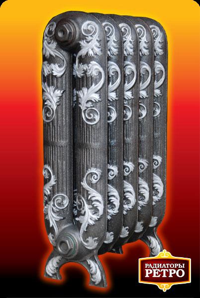 Чугунный радиатор RETROstyle Sheffield